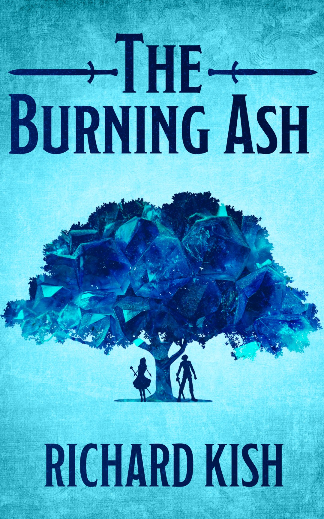The Front Cover of The Burning Ash