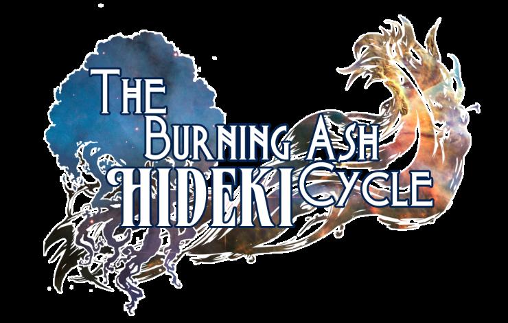 The Burning Ash Cycle: Hideki Mock-Up Logo