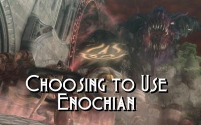 Magic Language in Fantasy: Choosing To Use Enochian