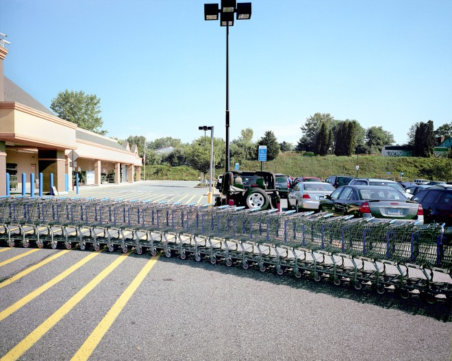 Walmart and Carts New Milford, CT 2011