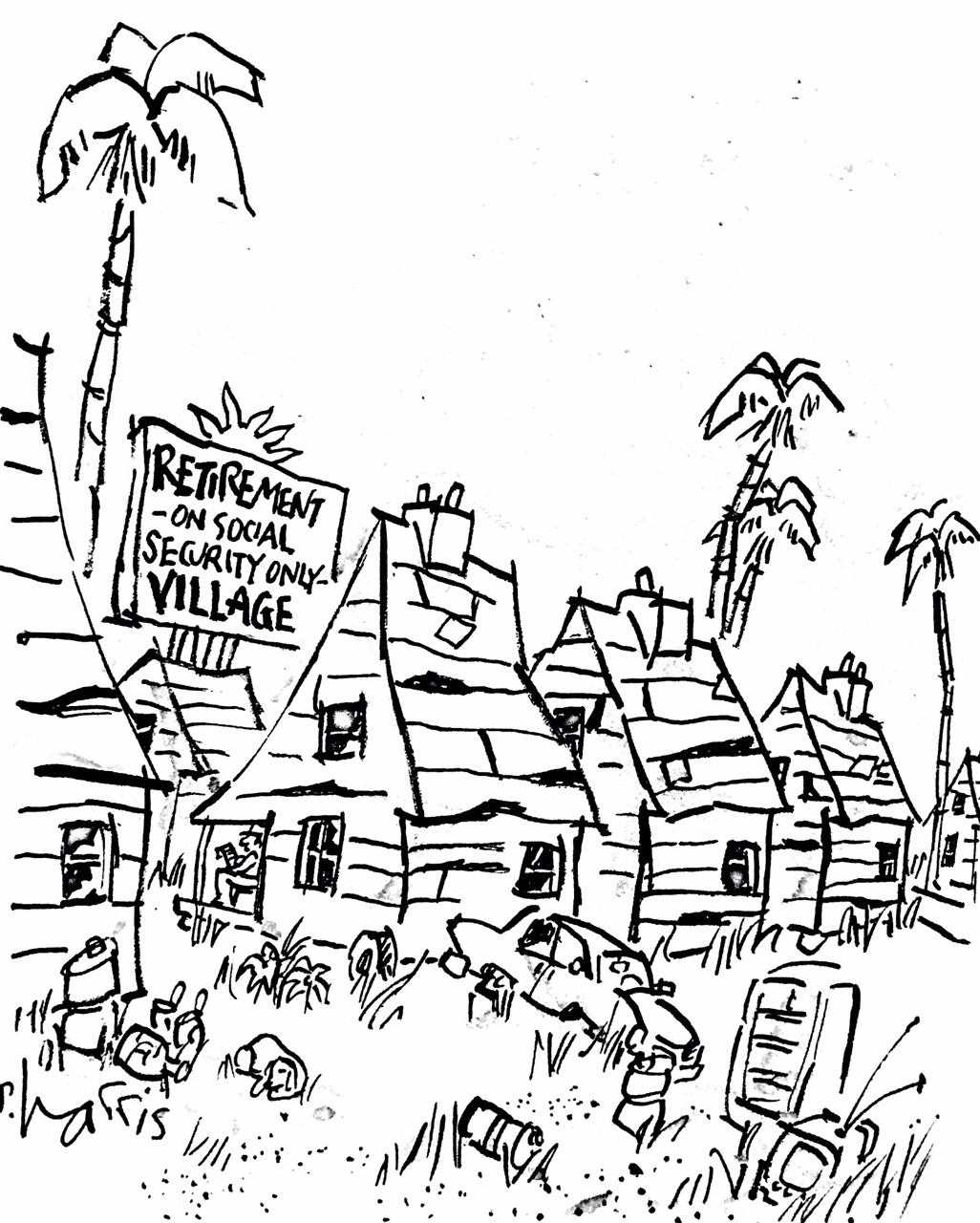 Retirement Village … On Social Security Only