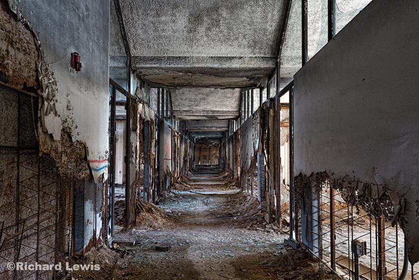 Office Hallway by Richard Lewis