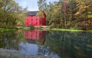 Alley Mill Ozarks Missouri by Richard Lewis