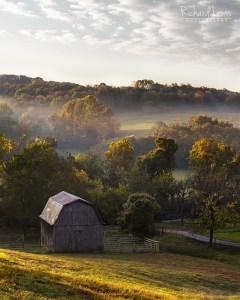 Missouri Farmscape Ozark Mountains