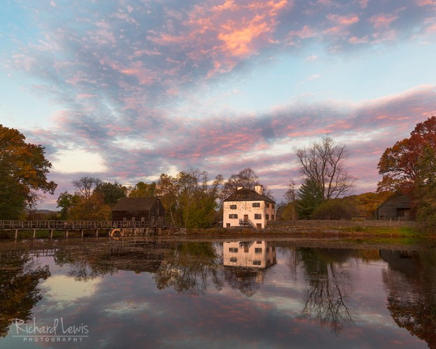 Phillipsburg Manor at Dawn in the Hudson Valley by Richard Lewis