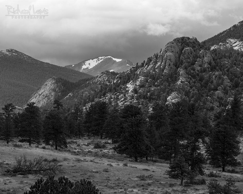 Estes Park Mountain View Rocky Mountain National Park