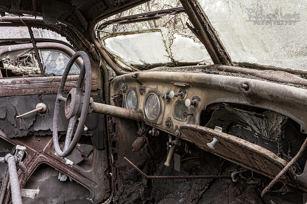 Richard Lewis Photography Airplane and Automotive Graveyard Workshop