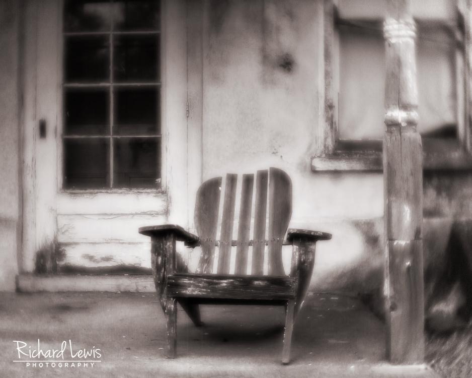 Lensbaby Velvet 56 Front Porch by Richard Lewis