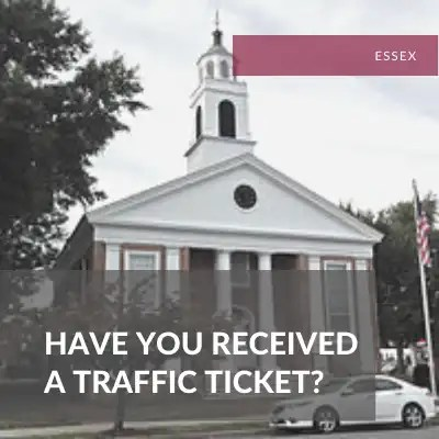 Essex County Traffic Attorney