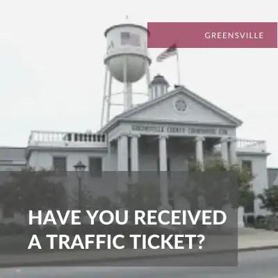 Greensville Traffic Lawyer