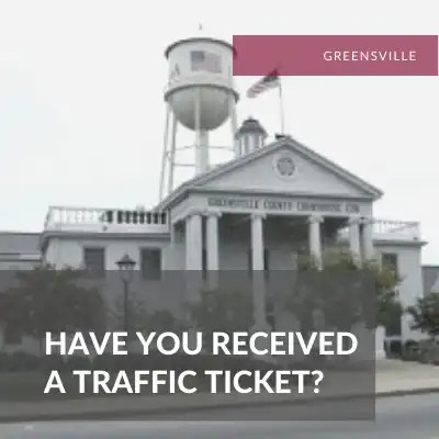 Greensville Traffic Lawyer