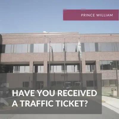 Prince WIlliam Traffic Attorney