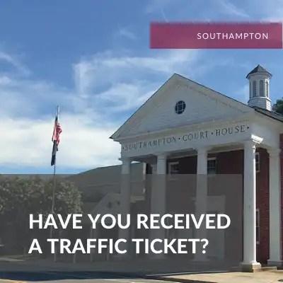 Southampton Traffic lawyer