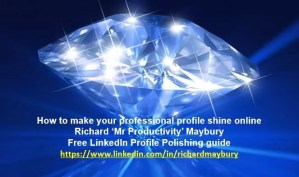 Levearge your linkedin results with Richard Maybury