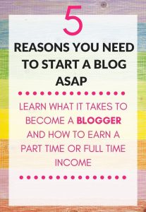 online income blogging