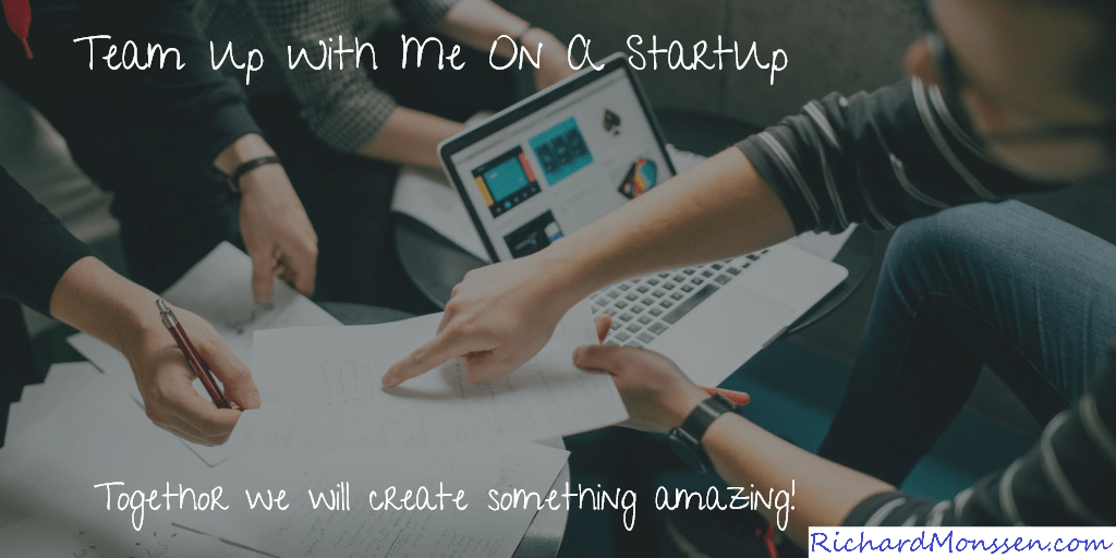 Work With Me On A Startup