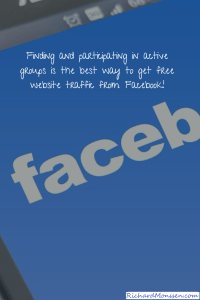 Easy Ways To Get Fast Free Website & Blog Traffic From Facebook