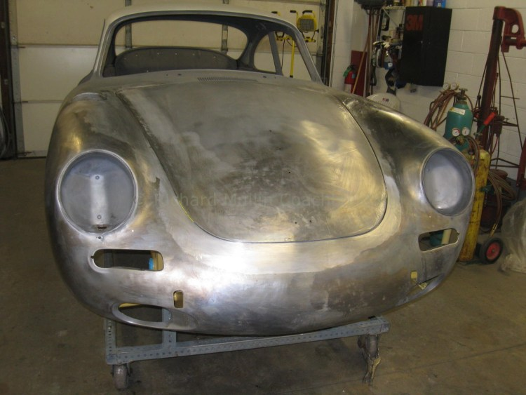 Porsche Carrera Completed Front End.