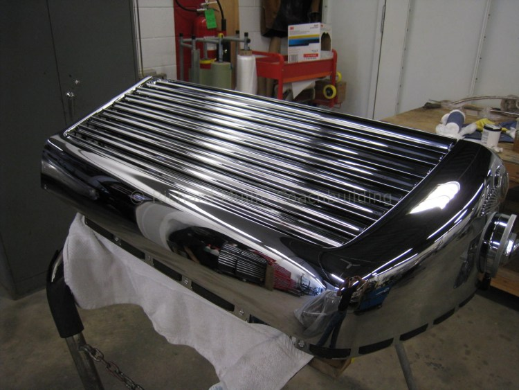 Derby Bentley Radiator Restoration