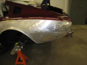 Aston Martin DB4 Rear Collision Repair
