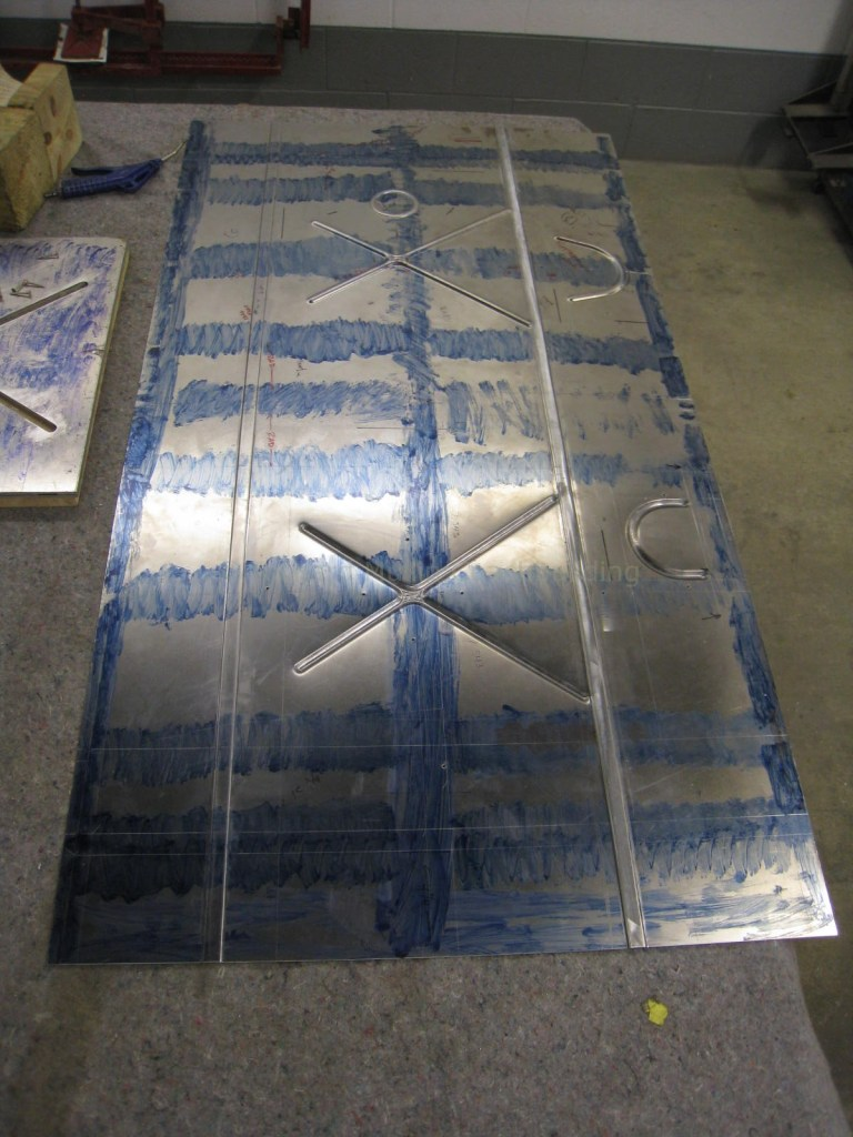 Fabrication of Hudson Fuel Tank