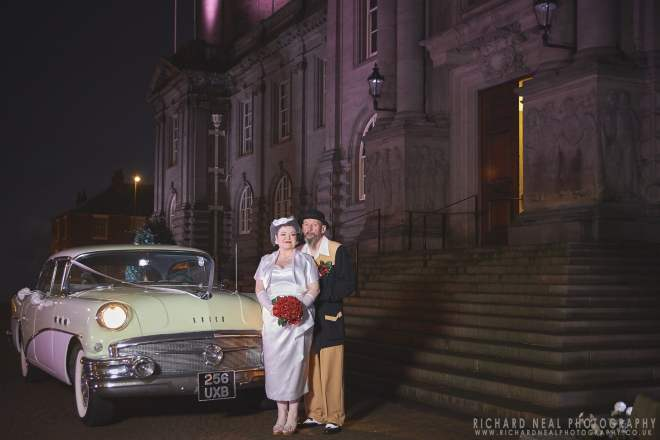 South shields rockabilly wedding