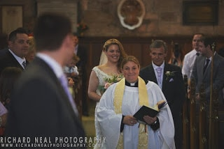 Croft wedding - st peters church