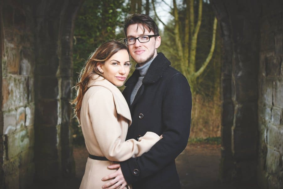 Sedgefield hardwick park pre wedding shoot