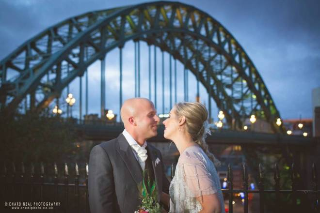 Gateshead heritage centre wedding reception