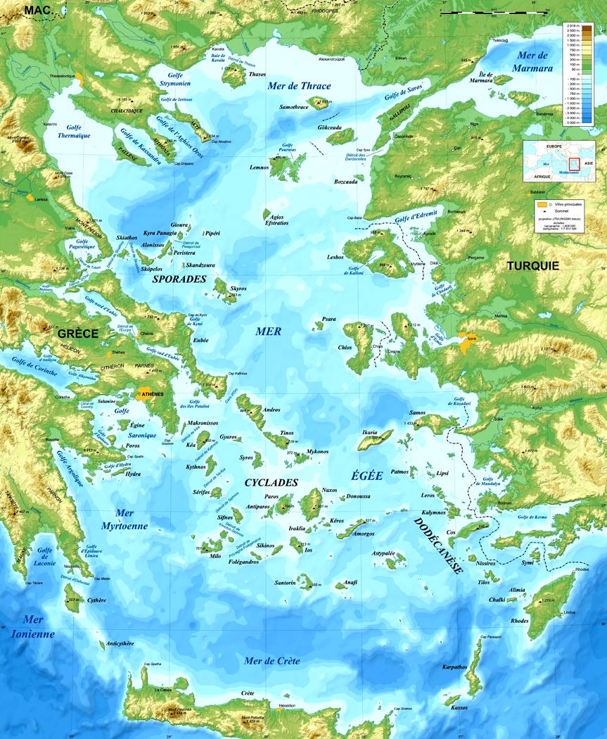 Aegean Sea On World Map : aegean, world, Stuart, World, History, Richard, Nilsen