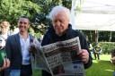 Sir David Attenborough. No caption needed.