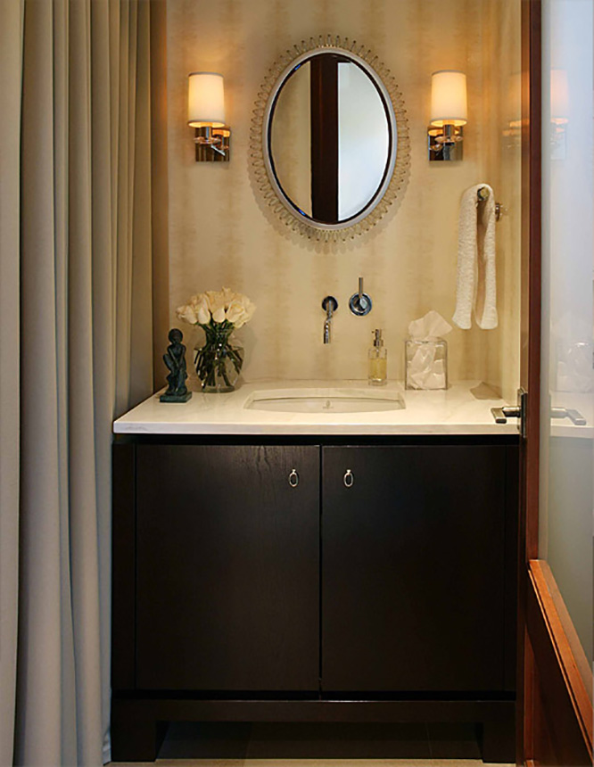 Below Are 25 Pictures Of Powder Room Designing Ideas From Interior