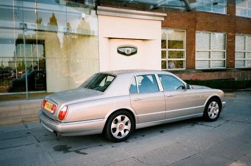 Bentley at Crewe