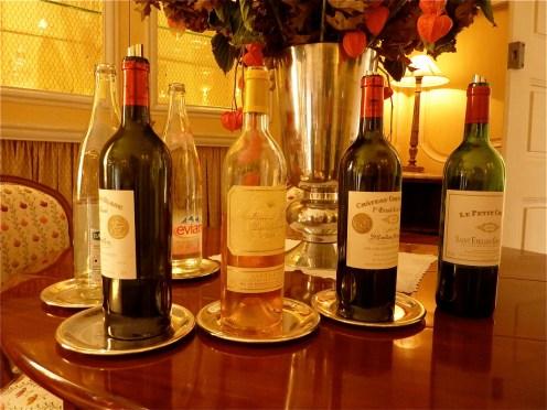 Déjeuner à Cheval Blanc octobre 2011