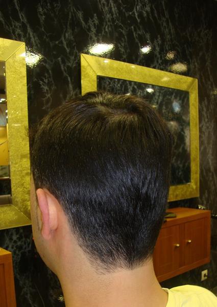 Cortes de cabello en nuca
