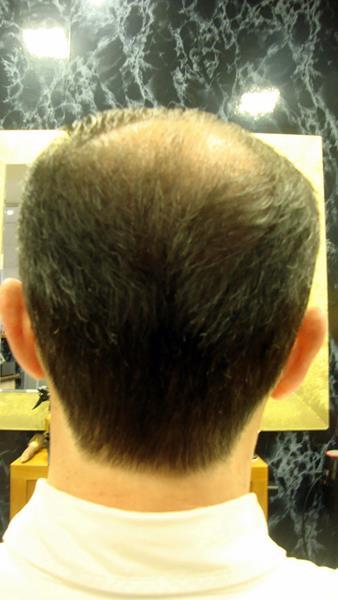 Corte de pelo terminado en punta