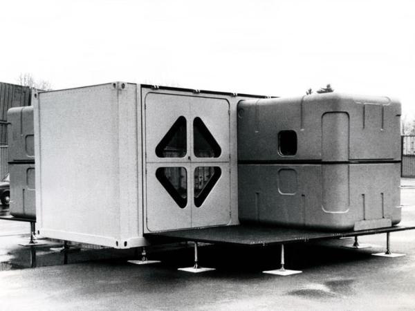 Richard Sapper - Mobile Housing Unit 1972