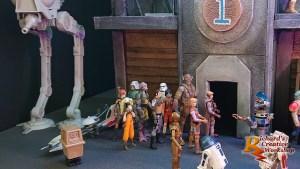 Star Wars Coruscant Landing Platform Diorama