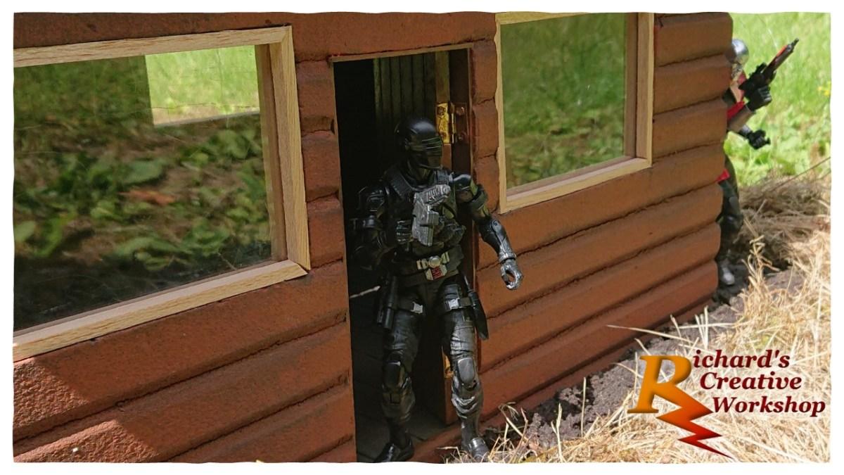 Snake Eyes Log Cabin