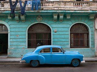 Shades of Blue, Havana, from Creole World