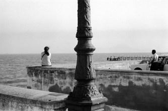 Waterfront Promenade near Carthage, Tunisia, 1976
