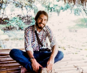 Richard Sexton in Medellin, Colombia, 1974
