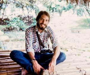 Richard Sexton in Medellin, Colombia, 1974