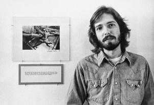 Richard Sexton at Nexus Gallery, Atlanta, 1975