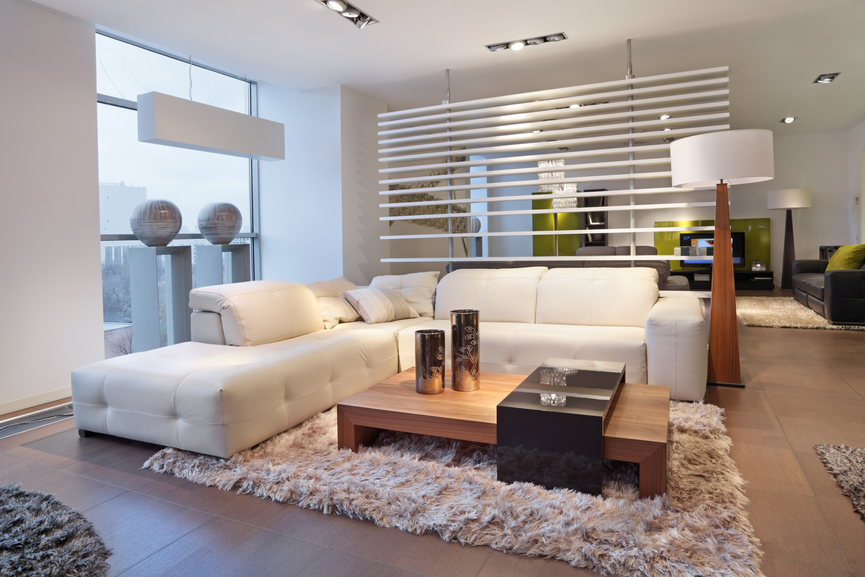 rug in living room design ideas brown sofa pick a modern for your richards f1