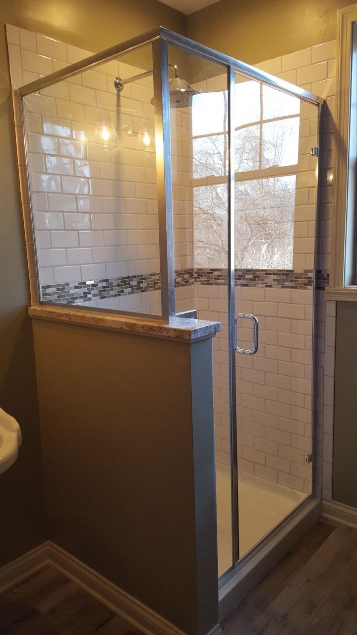 A Frame Shower Door Framess