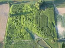 corn maze dean 2013