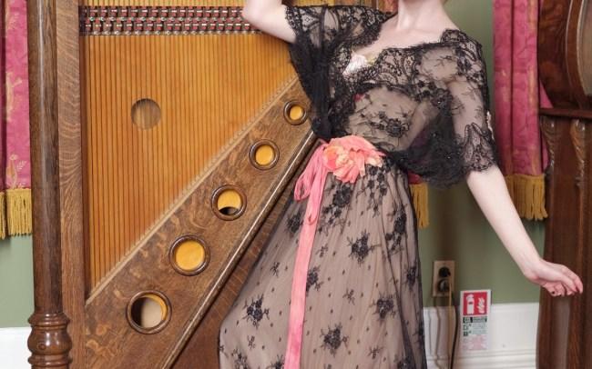 Walters Wardrobe anita in the music room II