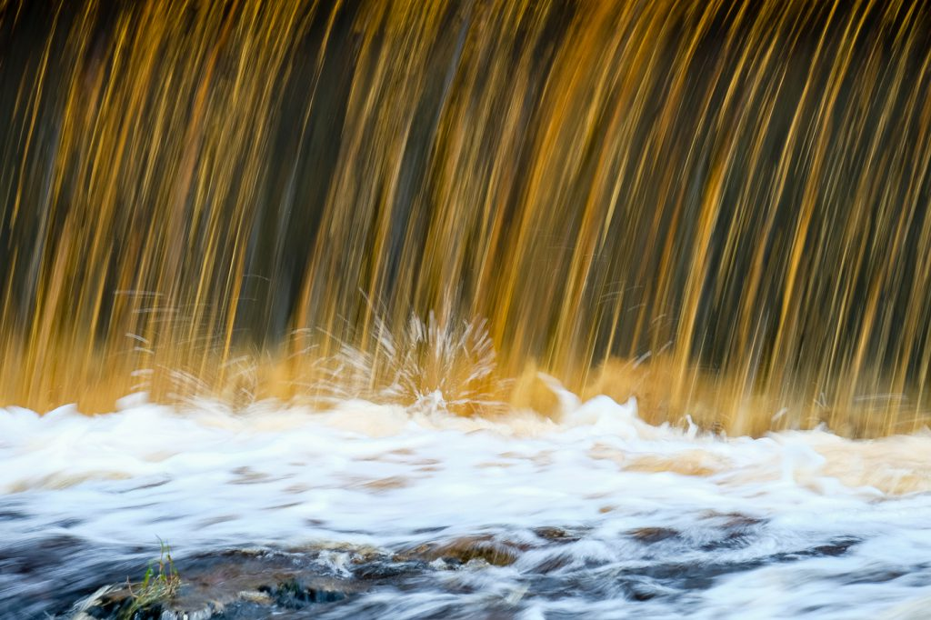water the colour of Peat I