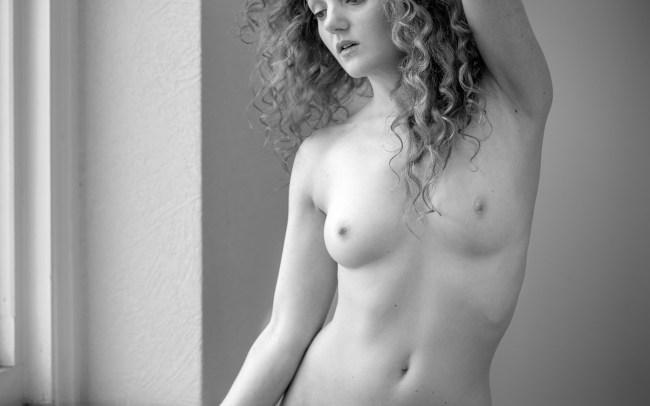 Fine art nudes - soft light nude
